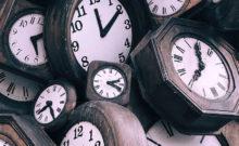 Foto com relógios